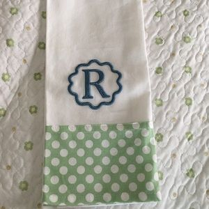"Other - NEW NANTUCKET ""R"" Kitchen towel"